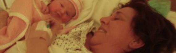 Megszületett a kislányom!